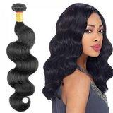 Braziliaanse golvende haar-weave (12 inch)_