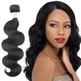 Braziliaanse golvende haar-weave (14 inch)_