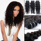 Braziliaanse krullende haar-weave (14 inch)_