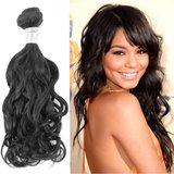 Braziliaans Natuurlijk Golvende haar-weave (14 inch)_