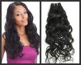 Braziliaans Natuurlijk Golvende haar-weave (18 inch)_