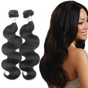 Indiaas golvende haar-weave (18 inch)