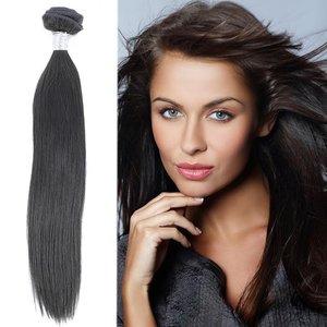 Braziliaanse steile haar-weave (14 inch)