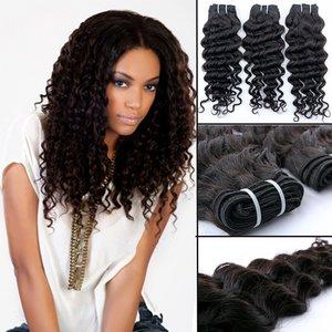 Braziliaanse krullende haar-weave (14 inch)