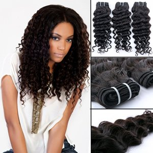 Braziliaanse krullende haar-weave (20 inch)