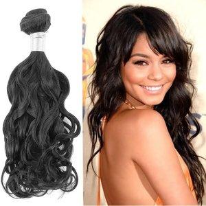 Braziliaans Natuurlijk Golvende haar-weave (18 inch)